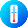 ppe supplier thermometer strips icon