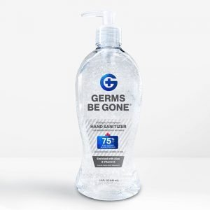 bulk hand sanitizer 15oz gel front