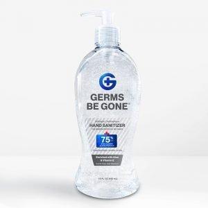 bulk hand sanitizer 15oz gel front