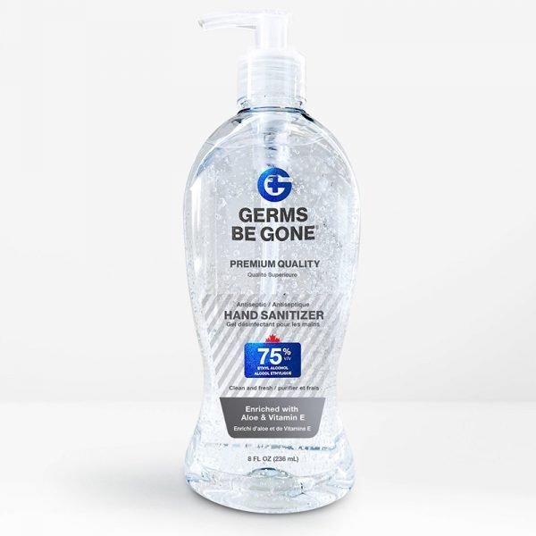 bulk 8oz hand sanitizer front